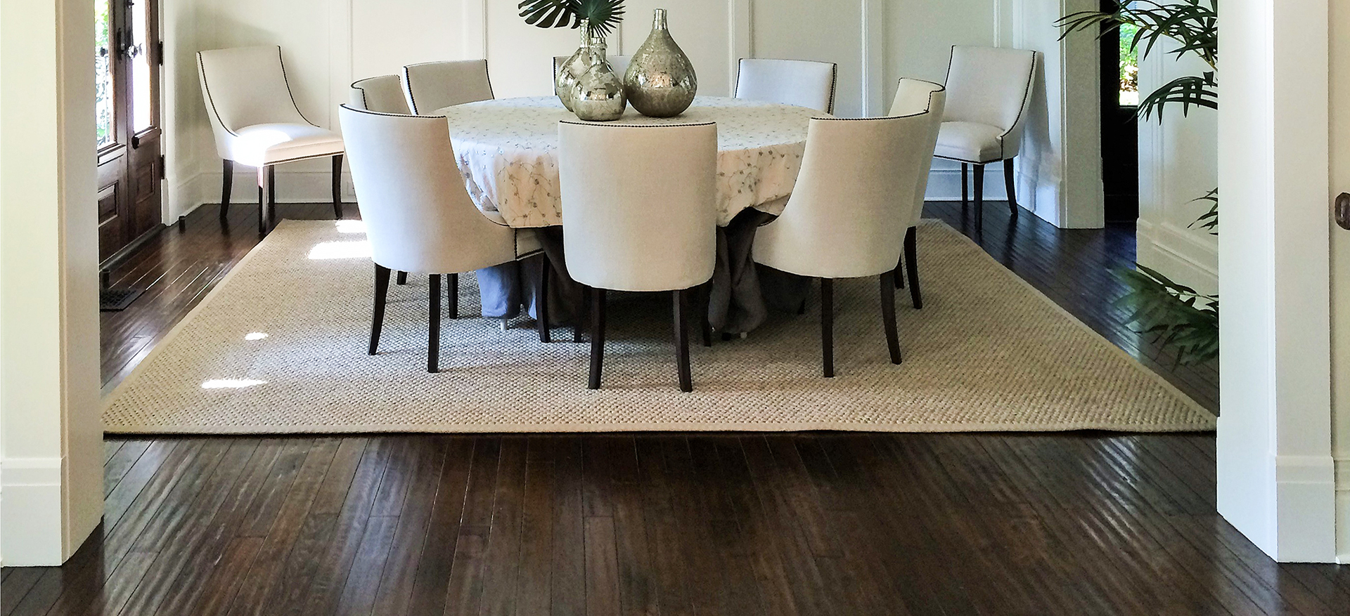 Jasso Dining room handcrafted floor